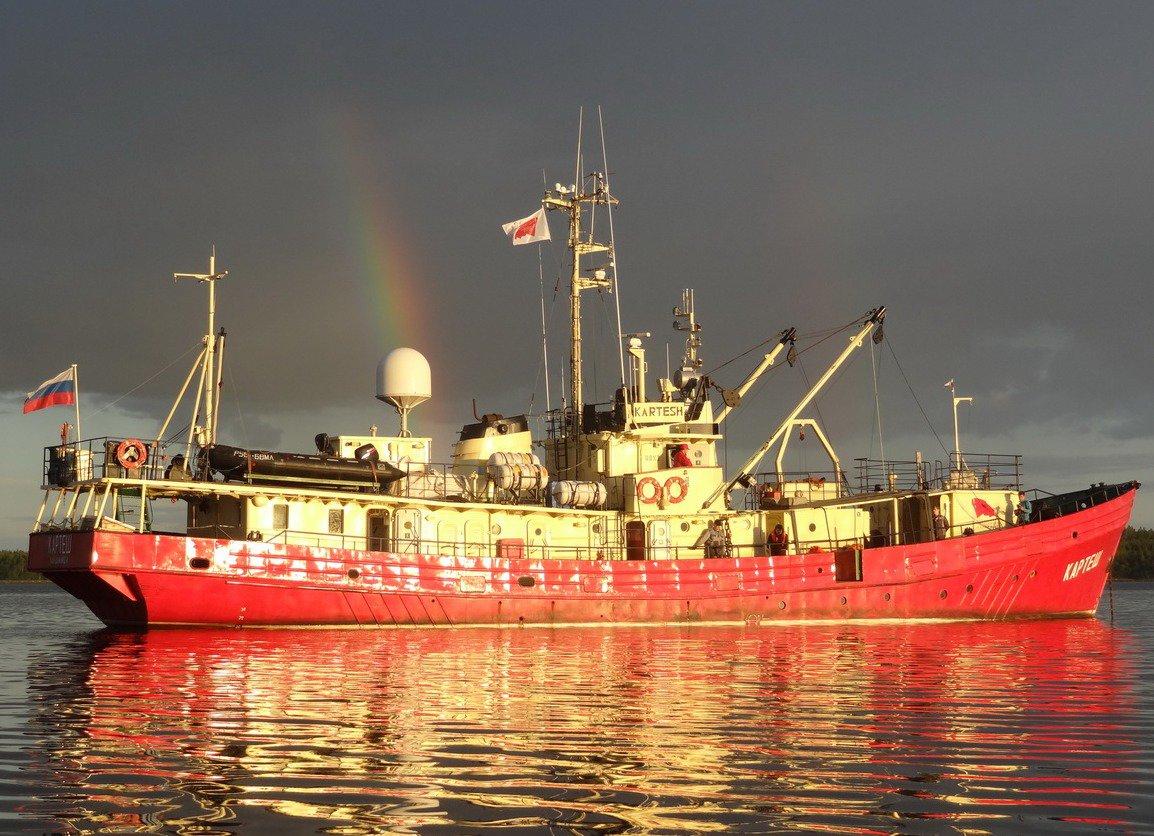 Электрофизиологические эксперименты на борту НИС «Картеш» в Карском море
