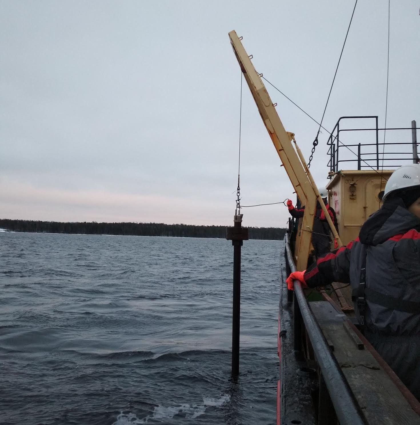 Исследования ЦМИ МГУ в акватории Кандалакшского залива